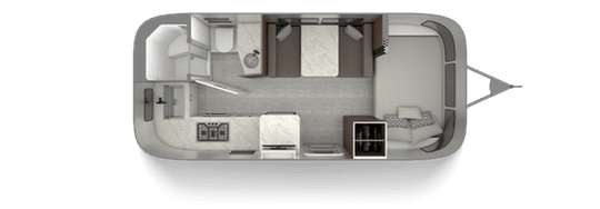 Airstream 20FB Floorplan